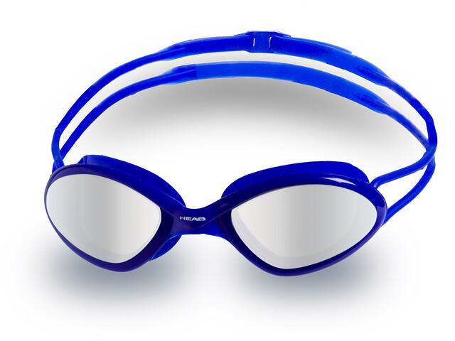 Head Tiger Race Mid Mirrored Gafas, blu-clear